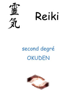 Couverture stage Reiki USUI second degré Okuden