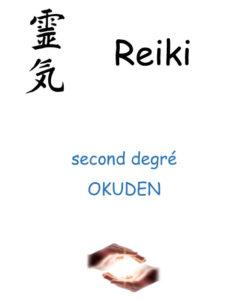 Couverture stage Reiki USUI second degré Okuden