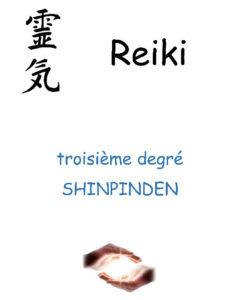 Couverture stage Reiki USUI troisième degré Shinpinden